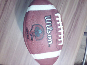 CFL SIGNED FOOTBALL