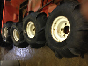 Rims and tires for 1980 argo