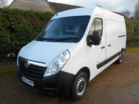 2013 63 VAUXHALL MOVANO 2.3CDTI 125BHP 6SPEED L2H2 REAR RAMP REAR WINCH