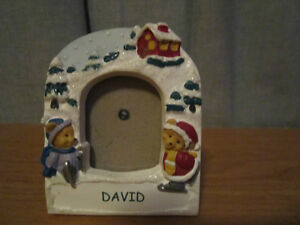 Picture Frame & Magnet, Personalize Name = DAVID