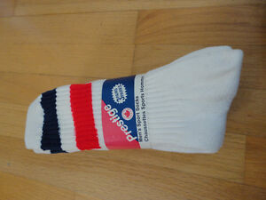 Vintage set of 3 pairs of sports socks size 9-11 Brand new London Ontario image 1