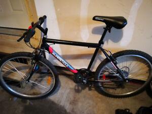 mountain bike used once 26 inch