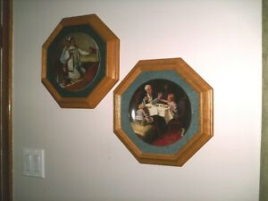 Collector Plates, Framed Pictures,  Art, Mirrors Etc Sarnia Sarnia Area image 1