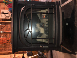 Electric wood stove/ fireplace