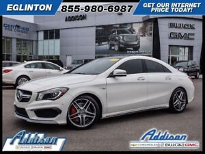 2016 Mercedes-Benz CLA AMG CLA 4545 4MATIC 21, 000 KMS