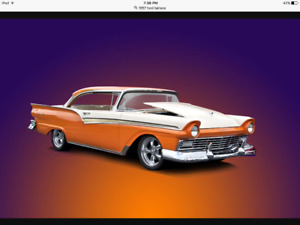 Wanted 1957 Ford 2 dr