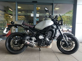 2016 Yamaha XSR 900 Rock Slate 1 Owner 6110 Miles Excellent Condition