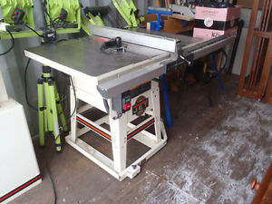 "Table Saw: JET 10"" Contractor Saw"
