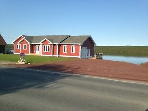 Lakeside Home For Sale in Blaketown Newfoundland $319,900