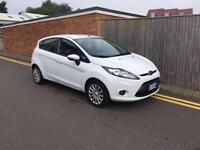 Ford Fiesta 1.25 2011 47,000 WHITE 5 Door 47,000 MILES LHD LEFT HAND DRIVE