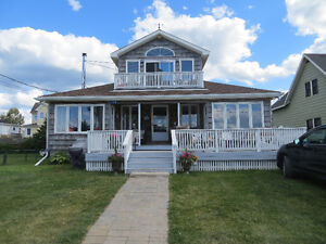 waterfront home in Pointe du Chene, NB