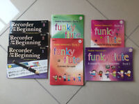 Recorder and flute books