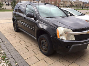 2006 Chevrolet Equinox LT SUV, Crossover- Black-$3499