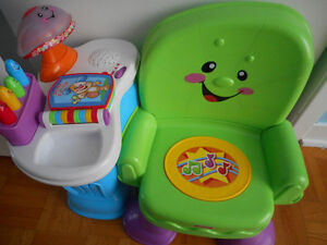 Chaise musical Fisher Price