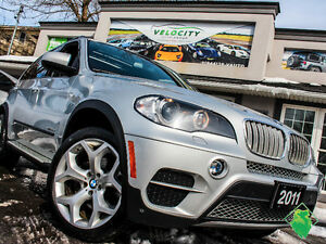 '11 BMW X5 M-Sport+Diesel+NAV+Roof+AWD+MINT! Only $191/Pmts!