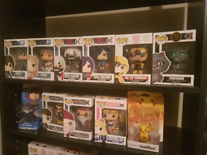 POP FIGURES/ AMIIBOS FOR SALE
