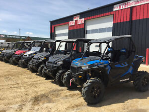 WE RENT : ATVS,  UTV'S  & SLEDS  ** For Work or Play **