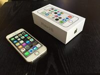 As New Mint in box iPhone 5S 16GB Gold Telus
