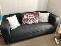 Klippan IKEA two seat sofa