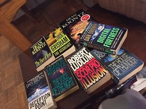 Lot of 8 books for sale