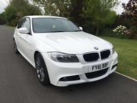 2011 61 BMW 3 SERIES M SPORT PLUS 320 2.0 TURBO DIESEL FULL LEATHER INTERIOR