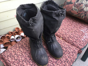 Winter Work Boots Size 10 Used CSA Grade 1 Baffin Technology