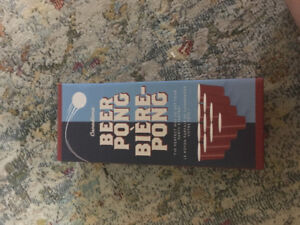 Canadiana beer pong brand new in the box