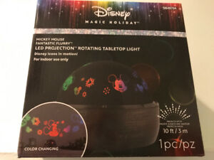 Brand New Christmas Disney Mickey Mouse Flurry Projector LED $20