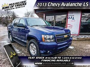 2013 Chevrolet Avalanche LS   - $241.46 B/W