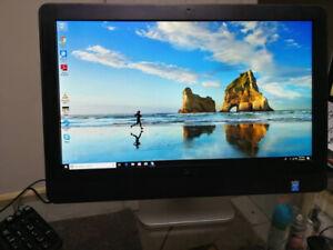 """23"""" inch Core i7 Dell All-in-One 8 gb 500 gb WiFi Webcam Win 10"""