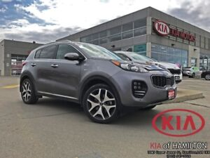 2017 Kia Sportage SX Turbo AWD | Low KM | One Owner