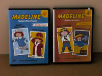 2 Madeline DVD movies : M's Adventures and M's Winter Vacation
