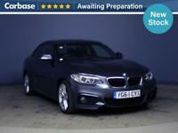 2014 BMW 2 SERIES 220d [190] M Sport 2dr [Nav] Step Auto
