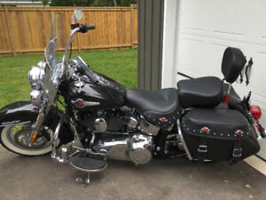 2017 Harley davionson   Heritage Softail trade for muscle car