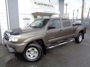 2012 Toyota Tacoma SR5 4x4 V6, Double Cab, Rev. Camera, No Accid