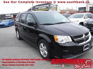 2016 Dodge Grand Caravan Canada Value PackagePower second-row wi
