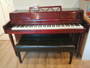 Steigerman stand up piano for sale