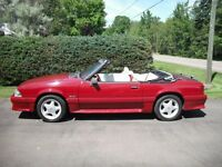 1992 5.0L Ford Mustang GT Convertible