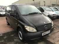 2005 Mercedes-Benz Vito 109CDI Van IN BLACK LOW MILES FOR YEAR IDEAL DAY VAN OR