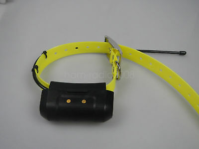 Used USA VER GARMIN DC40 GPS Dog tracking collar for ASTRO 220/320 yellow strap