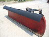10' foot power angle snow plow
