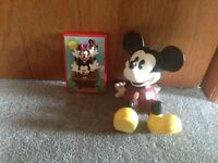 Mickey Mouse bank and light switch