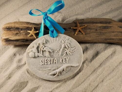 Siesta Key Memories Sand  Ornament