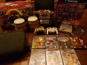 Nintendo gamecube with games and accessories bundle