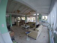 Stunning central cabarete penthouse ocean and mountain views!