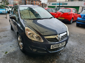 Vauxhall CORSA 1.4 petrol 75K12mot Icars L7 0LD