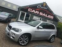 2009 BMW X5 3.0D M SPORT AUTOMATIC NAVIGATION RARE COLOUR PART EX & FINANCE WELC
