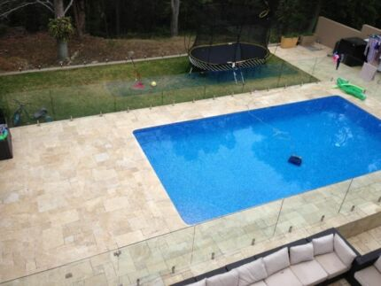 Classic Travertine French Pattern 30mm Tumbled Pavers Seven Hills Blacktown Area Preview