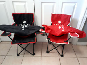 Kids summer chairs x2