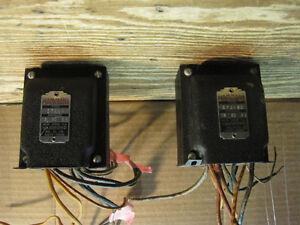 Transformateurs pour projet d'amplificateur